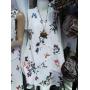 Tunique / Robe papillon blanche