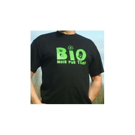 Tee shirt Bio mais pas trop, Tee Time