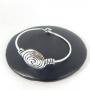 Bracelet métal Spirale