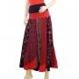 Robe jupe 2 en 1 Noir et rouge jupe