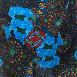 imprime turquoise